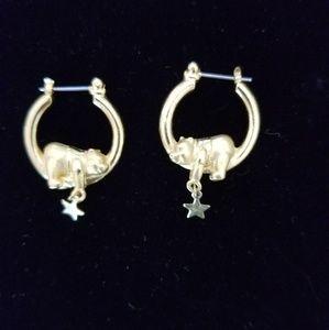 Disney branded winnie the pooh earrings